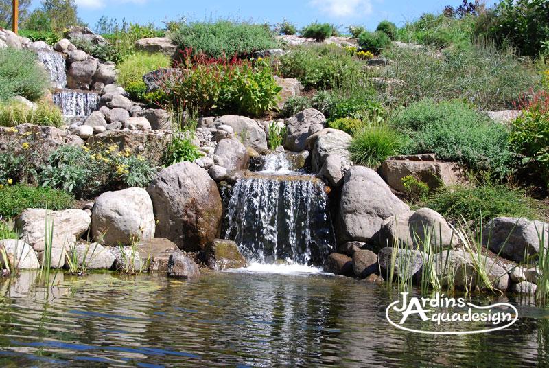 Jardin 3b jardins aquadesign - Amenagement jardin avec bassin grenoble ...