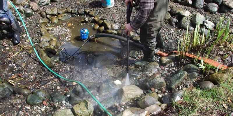 Le nettoyage du printemps - Jardins Aquadesign