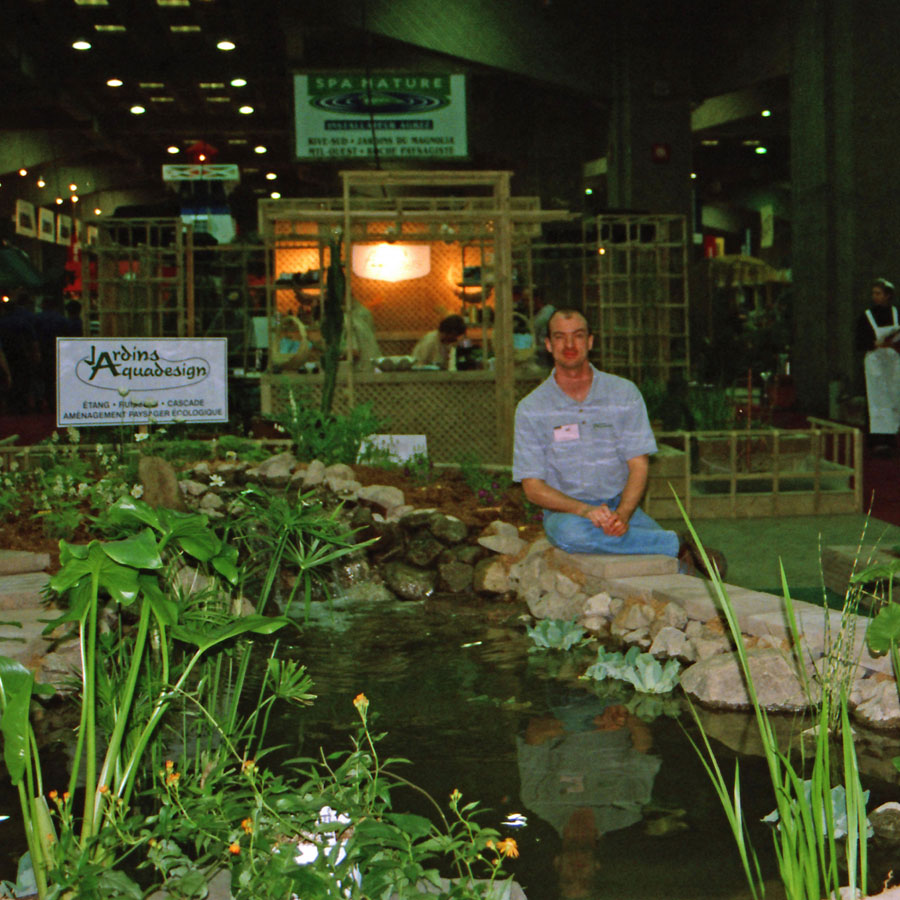 2002 salon plantes jardins jardins aquadesign for Plantes jardins