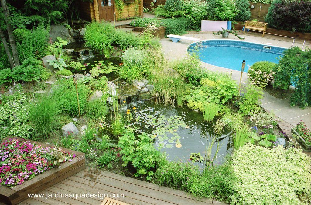 Jardins Aquadesign bassin Ste-Adèle