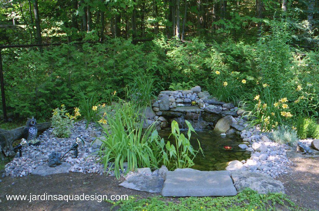 JardinsAquadesign bassin Aquascape design
