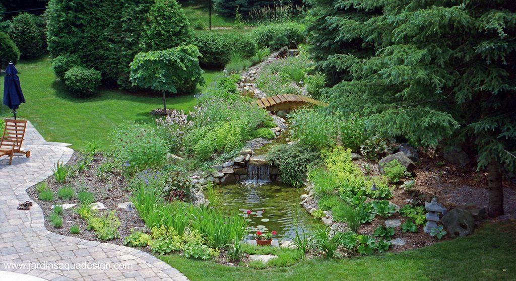 Jardins Aquadesign jardin d'eau Morin-Heights