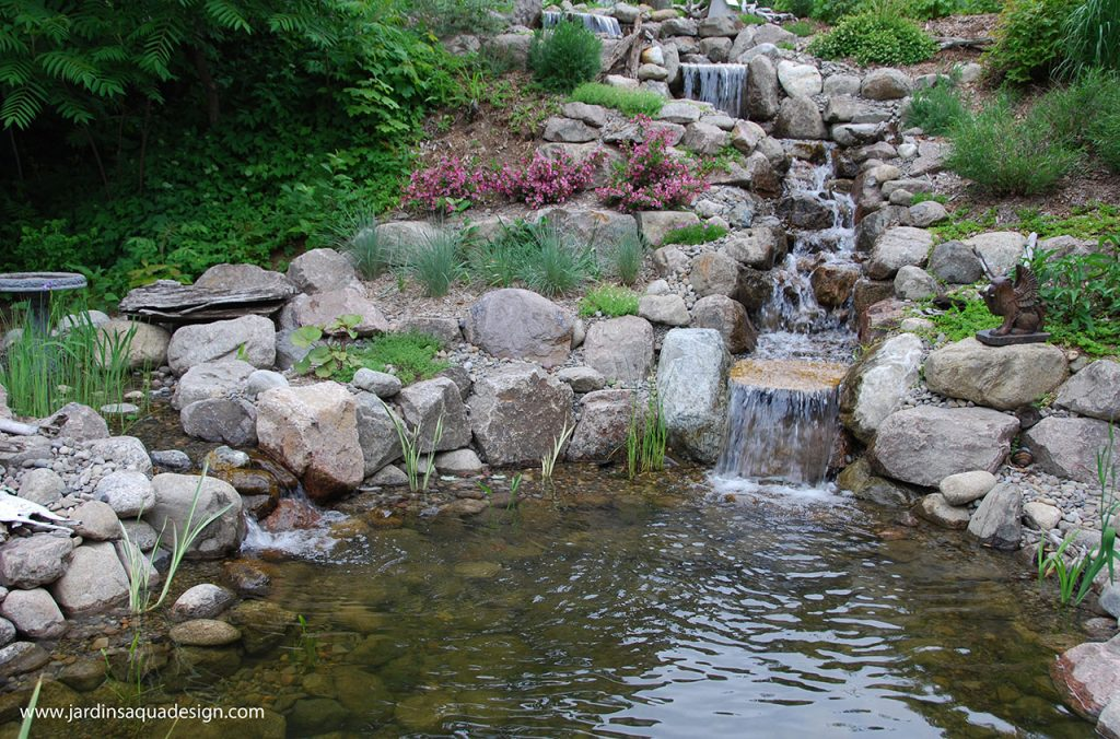 Jardins Aquadesign bassin baignade