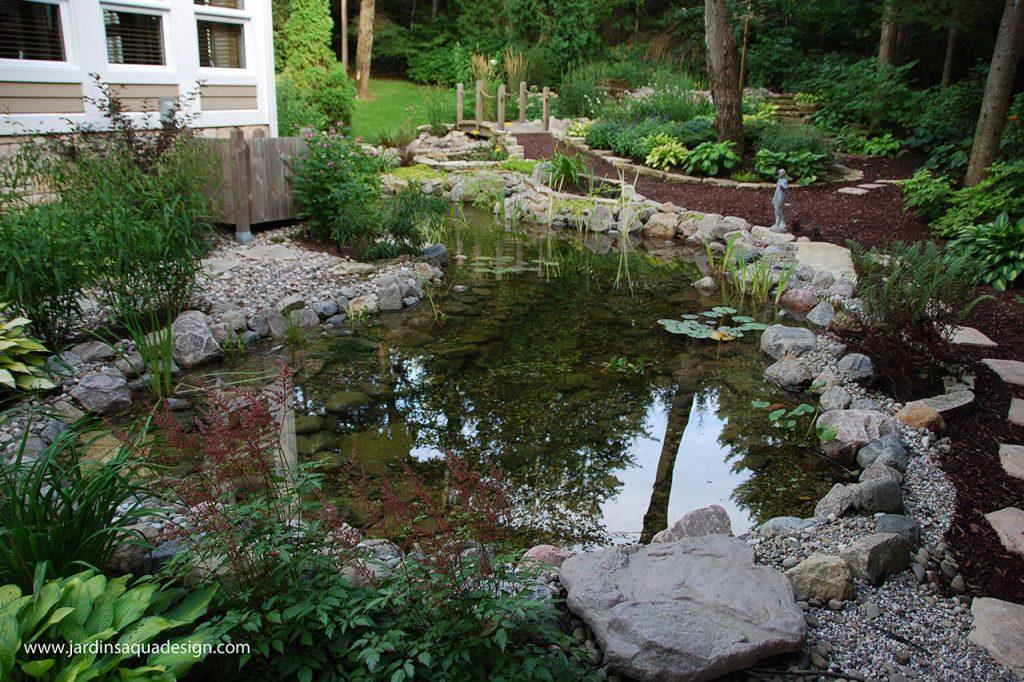 Jardins Aquadesign bassin Piemont