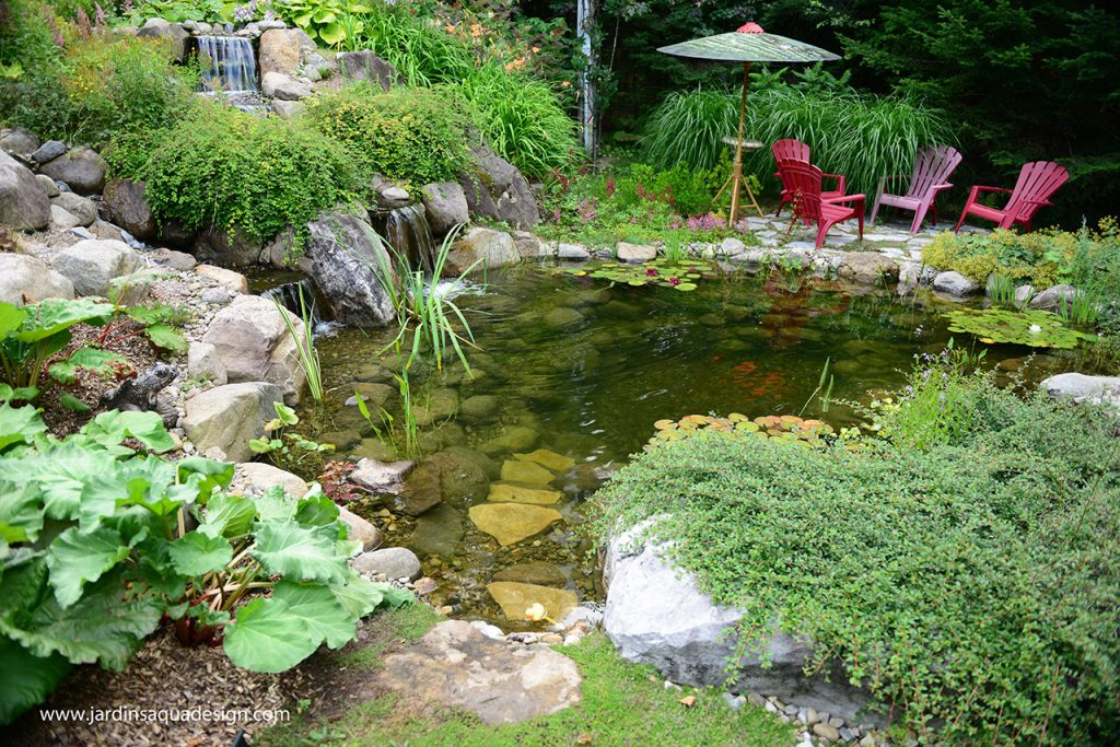 Jardins Aquadesign Étang de baignade